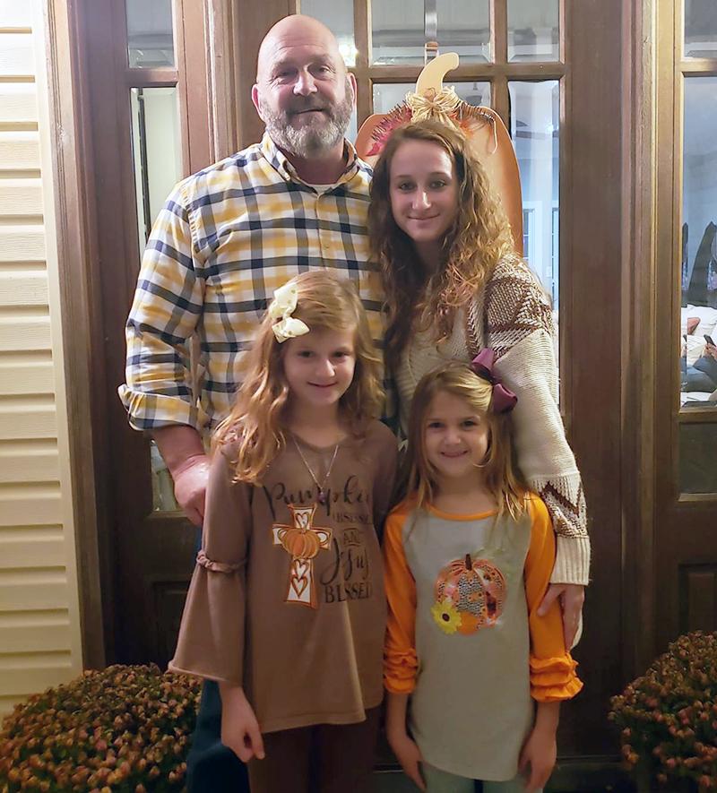 Mark Boyanton and family
